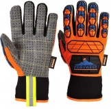GUANTI PRO AQUA-SEAL - A726 - Arancione/Blu