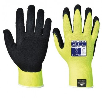 HI-VIS GRIP GLOVE - LATEX - A340