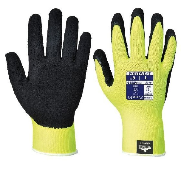 GUANTI GRIP HI-VIS - LATTICE - A340