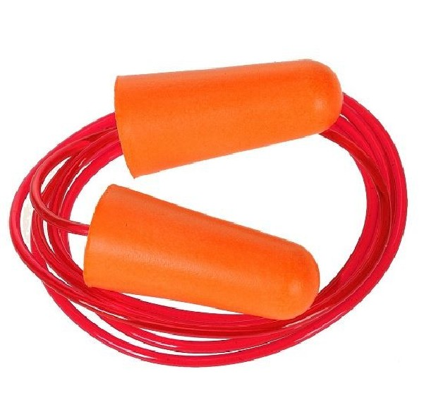 CORDED PU FOAM EAR PLUG (PAIRS) - EP08