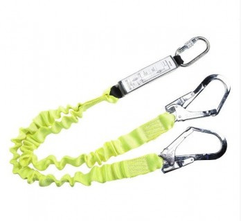 DOUBLE ELASTICATED LANYARD WITH SHOCK ABSORBER - FP52