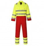 BIZFLAME SERVICES COVERALL - FR90