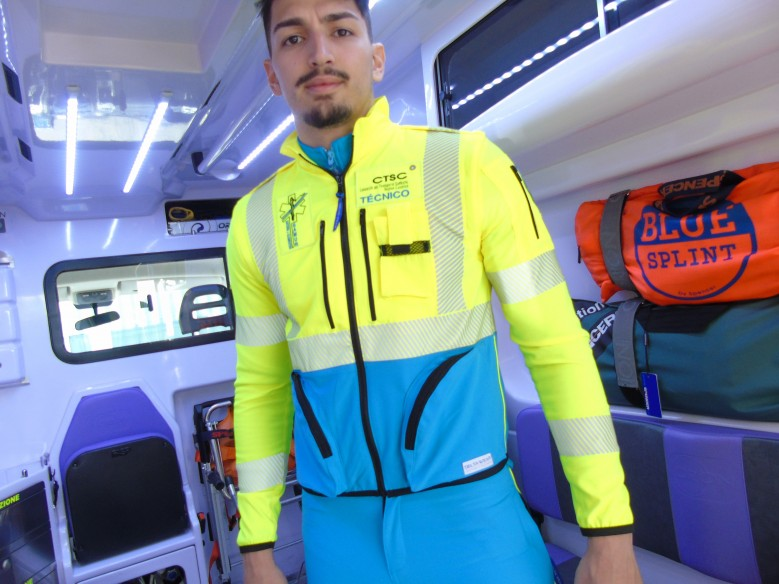 303 dinamik ELASTIC JACKET top quality - ambulance