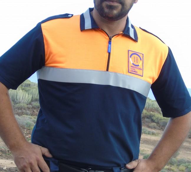 501 camiseta polo proteccion civil CANARIAS