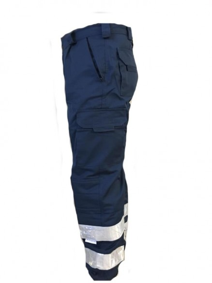 610BL PANTALONES proteccion civil