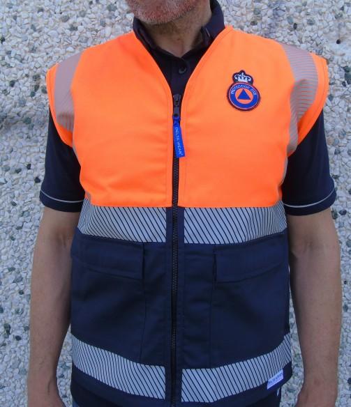 402 gilet protezione civile