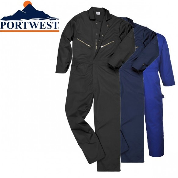 PORTWEST COVERALL - TEXPEL SOS FINISH - C808
