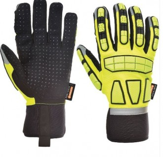 SAFETY IMPACT GLOVE LINED - A725