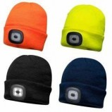 BEANIE LED HEAD LIGHT USB RECHARGEABLE - B029