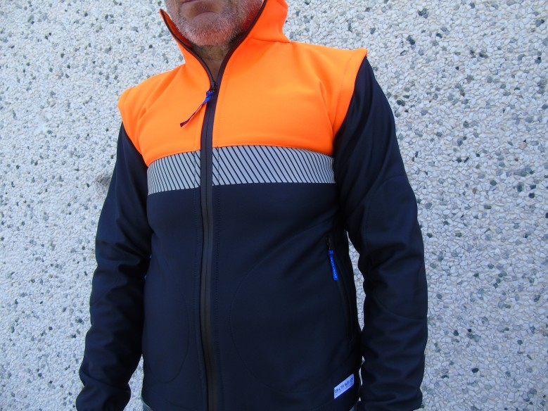softshell jacket  windproof/waterproof CIVIL PROTECTION