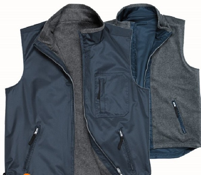 RS REVERSIBLE BODYWARMER - S418