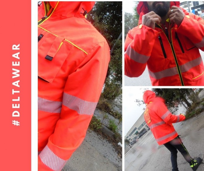 108 dinamiK - PARKA 3 USE - AMBULANCE JACKET - RESCUE