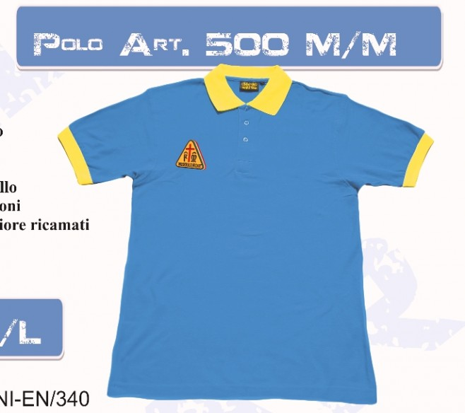 500 M/M POLO MISERICORDIA