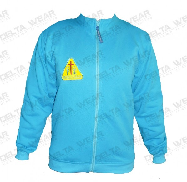 FP490 Full zip SUDADERA -  RESCATE AMBULANCIA