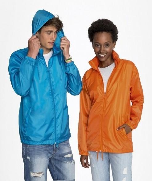 giacca a vento impermeabile / k-way