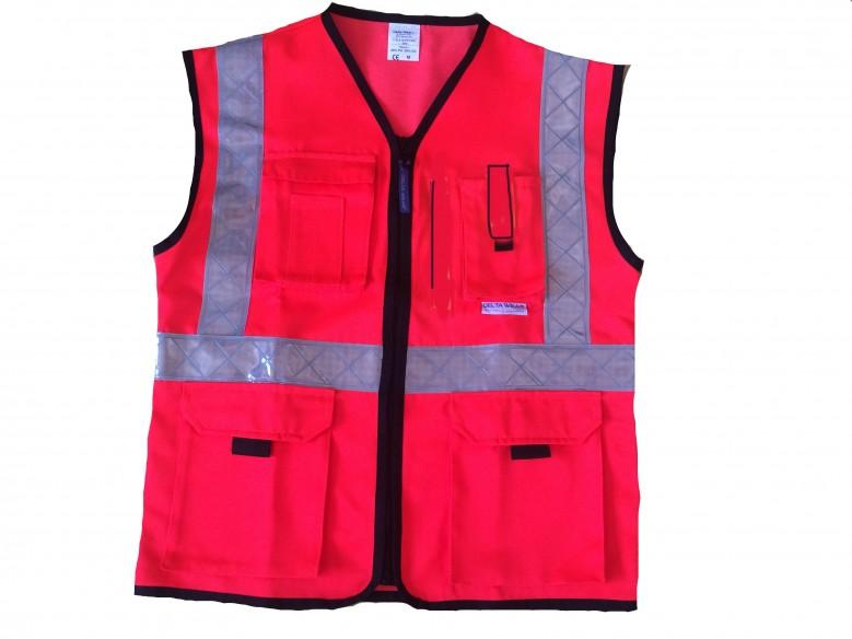 405 HV summer vest MULTIPOCKET