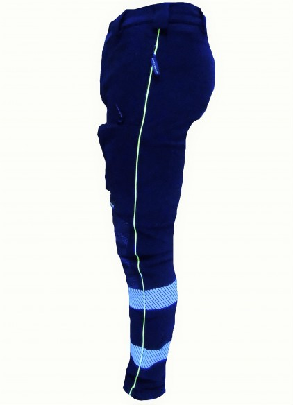 618 DINAMIK NAVY pantalones elastico