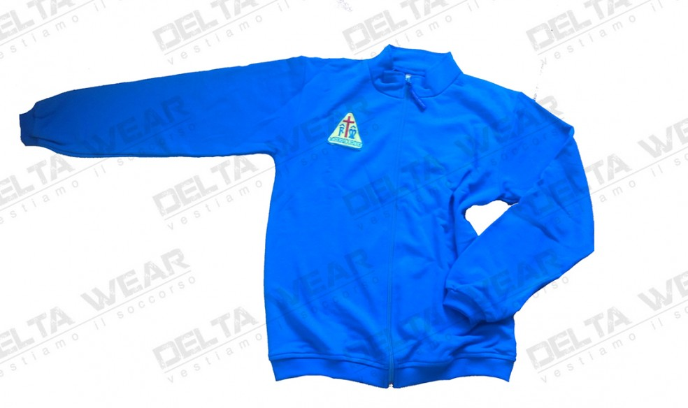 FP492 full zip SUDADERA DE RESCATE - AMBULANCIA