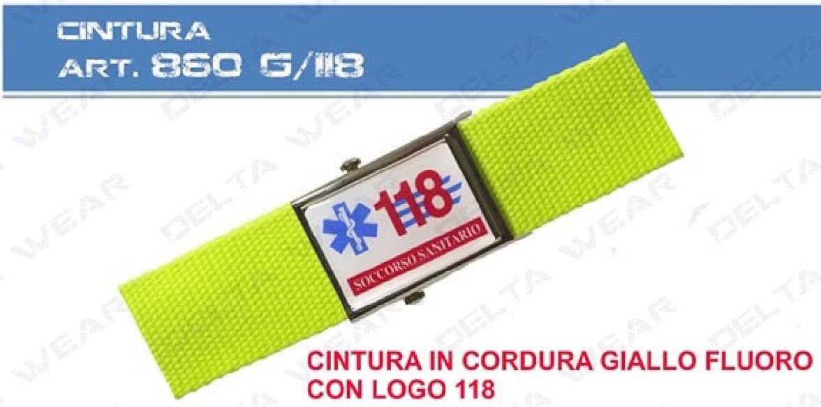 860G/A cintura paramedico