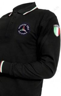 505 Tricolore m/l POLO PRIMAVERILE PROTEZIONE CIVILE