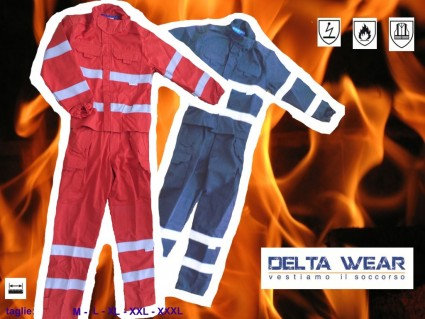 2030BL fireproof suit