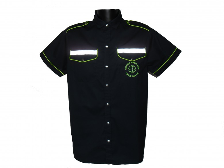 201BL M/M SHIRT RESCUE AMBULANCE