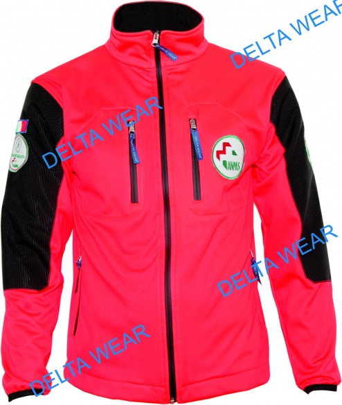 softshell r.b. JACKET RESCUE AMBULANCA  windproof/waterproof