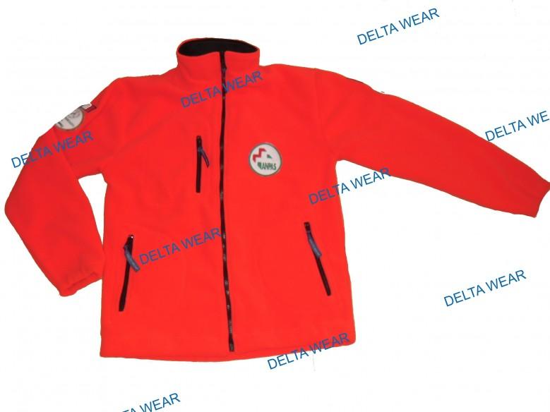 P496 maglione pile SOCCORSO - AMBULANZA