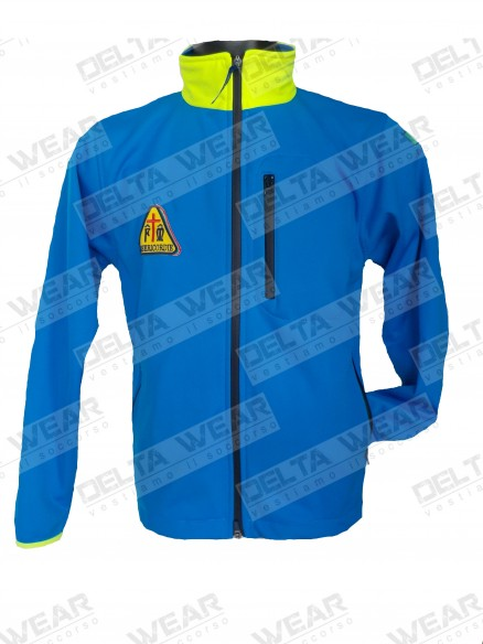 SOFTSHELL mis  RESCUE AMBULANCE - WINDPROOF AND THERMAL jacket