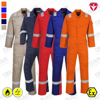 ARAFLAME SILVER COVERALL - AF73
