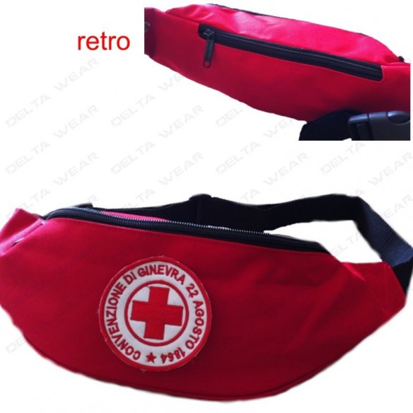 BG42 BELT BAG - RED CROSS