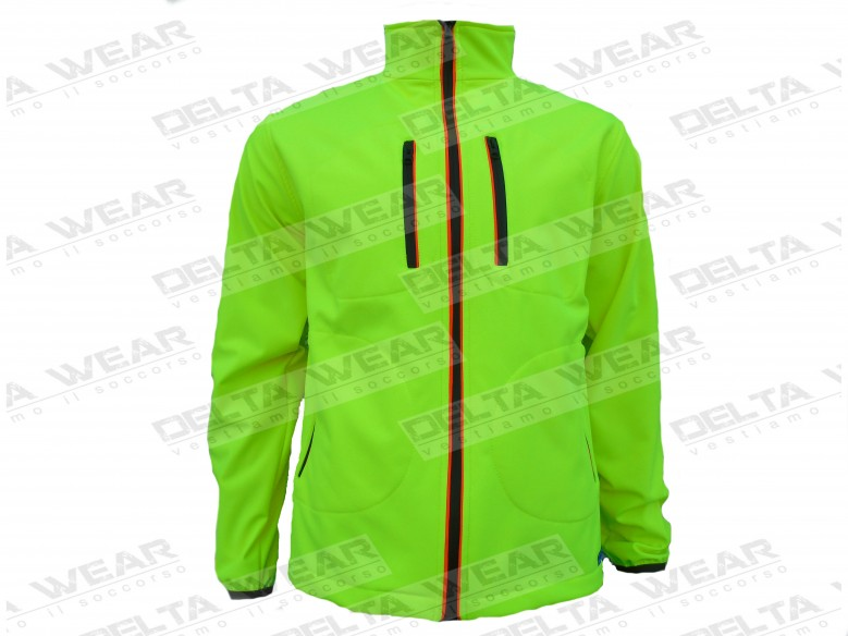 SOFTSHELL RESCUE AMBULANCE waterpoof/windproof
