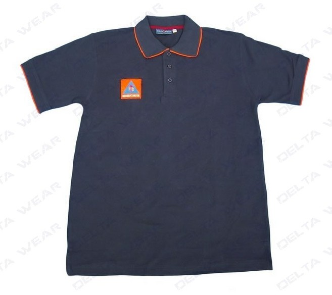 501/08 camiseta polo proteccion civil