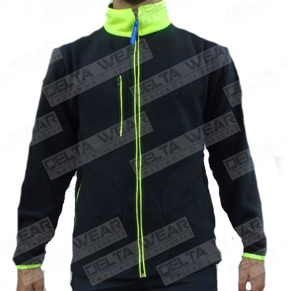 496 BLACK/YELLOW - FLEECE RESCUE EMERGENCY