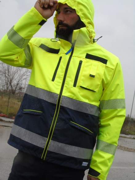 107 slim PARKA DE RESCATE - 3 USES - AMBULANCIA